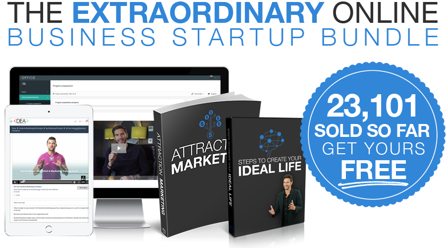 Extraordinary Online Business Startup Bundle